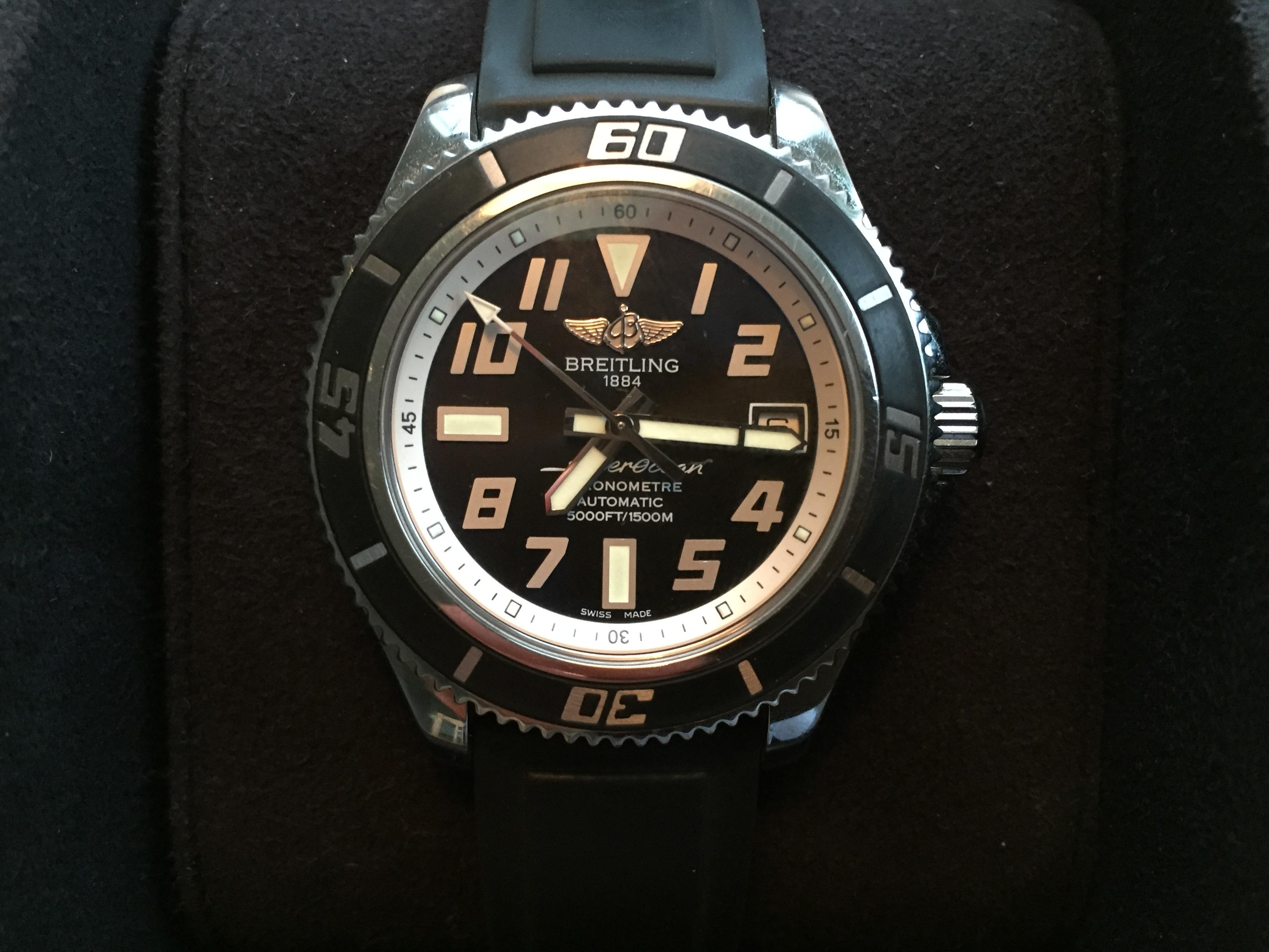 Breitling Superocean 42 norge