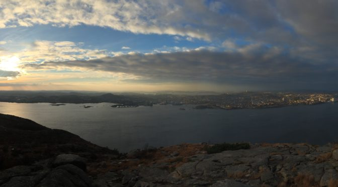 Lifjell panorama