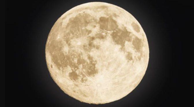 Supermåne i Sandnes