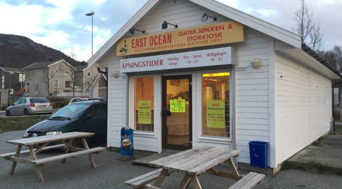 Meny East Ocean Gatekjøkken