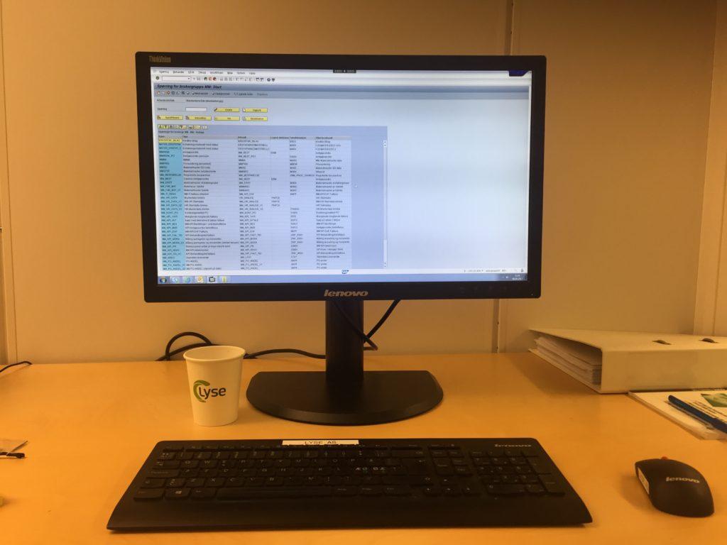 SAP SQ01 LYSE