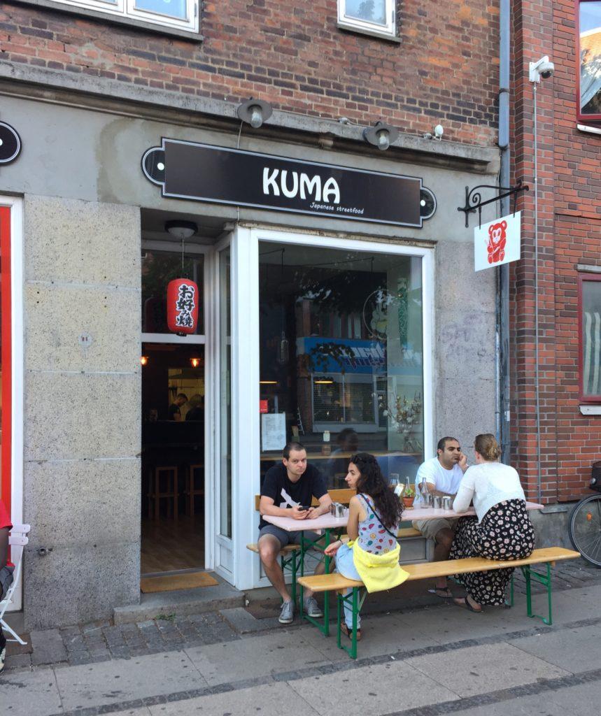 Kuma Copenhagen København logo okonomiyaki Denmark japanese