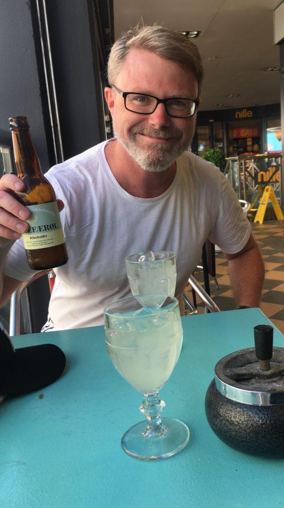 Valleløkka ingefærøl ingefær balleløkka øl retro Oslo Norge norway ginger ale Norwegian gingerale leskende leskedrikk drikk med isbiter