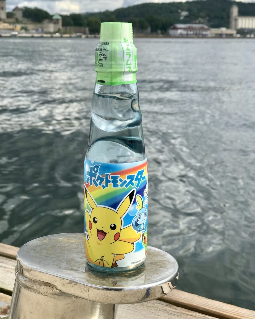 Pokemon Ramune promotional item