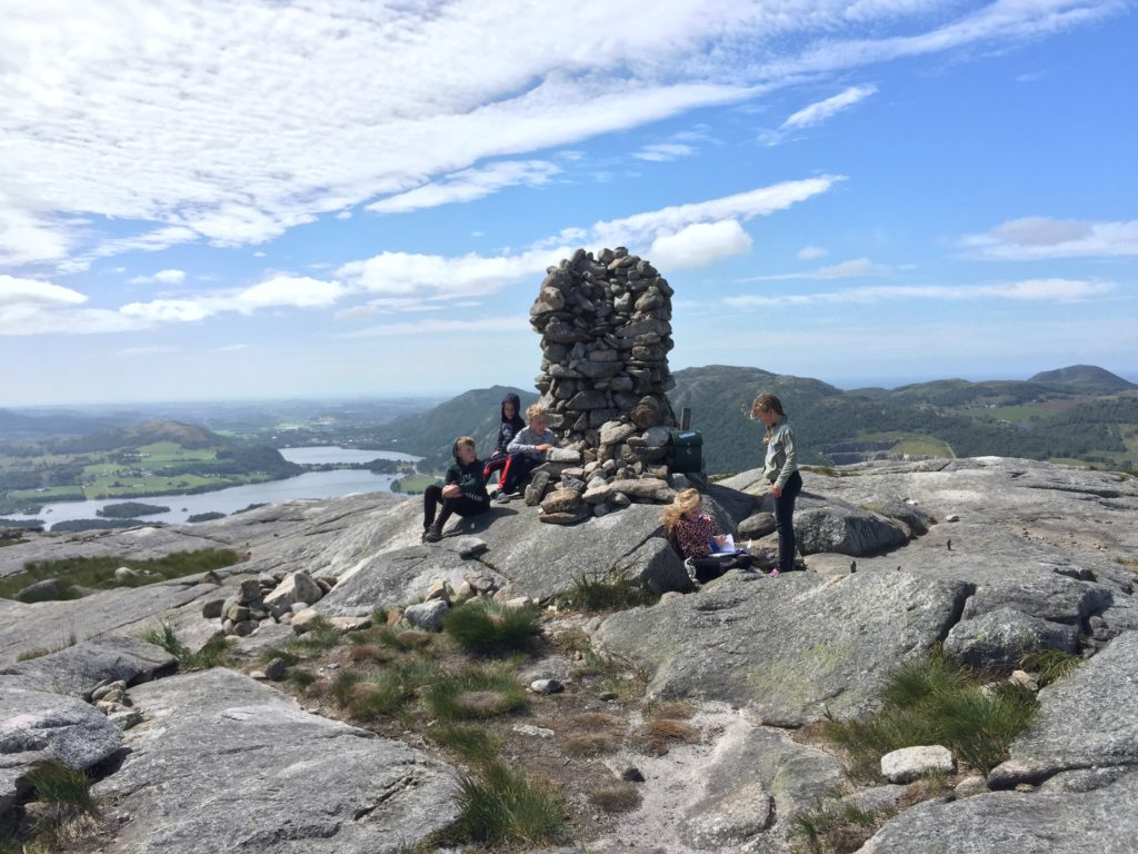 Storafjell Storaberg storaberget topp fjelltopp Rogaland Sandnes Stavanger norway