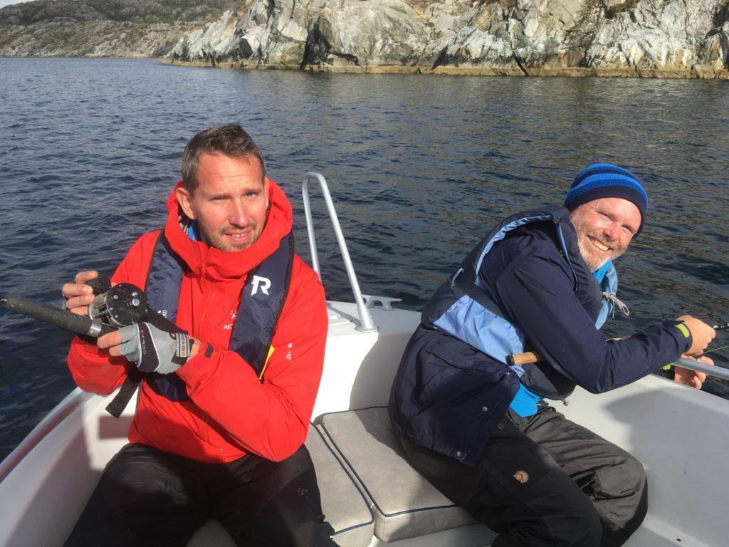 Fiske helgeneset Bømlo djupavika havfiske