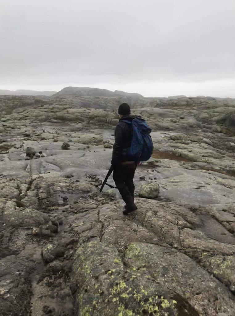 Jakt i blåfjell Rogaland Ryfylke blåfjellet Norway game and fish hunting Blåsjø sandalsheiene