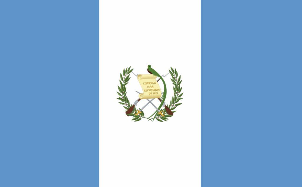 Guatemalas flagg