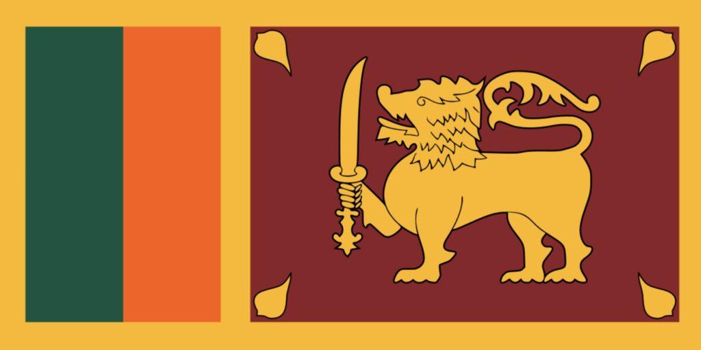 Sri Lankas flagg