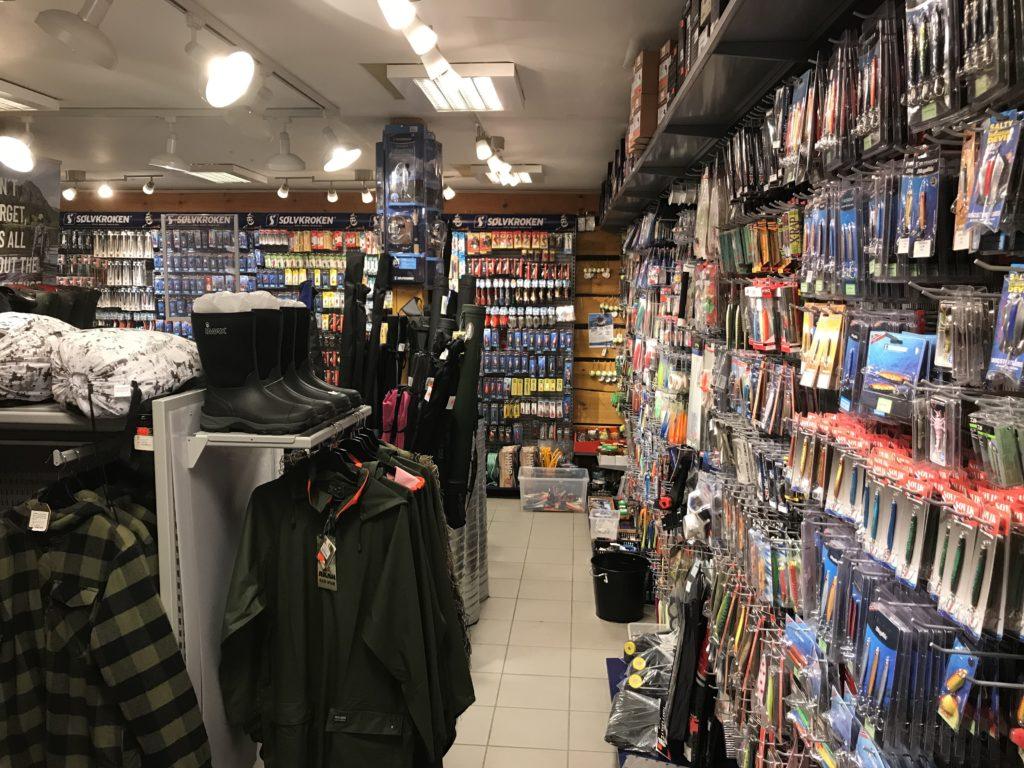 Nubben butikk jakt fiske natur utstyr Bryne Stavanger Rogaland
