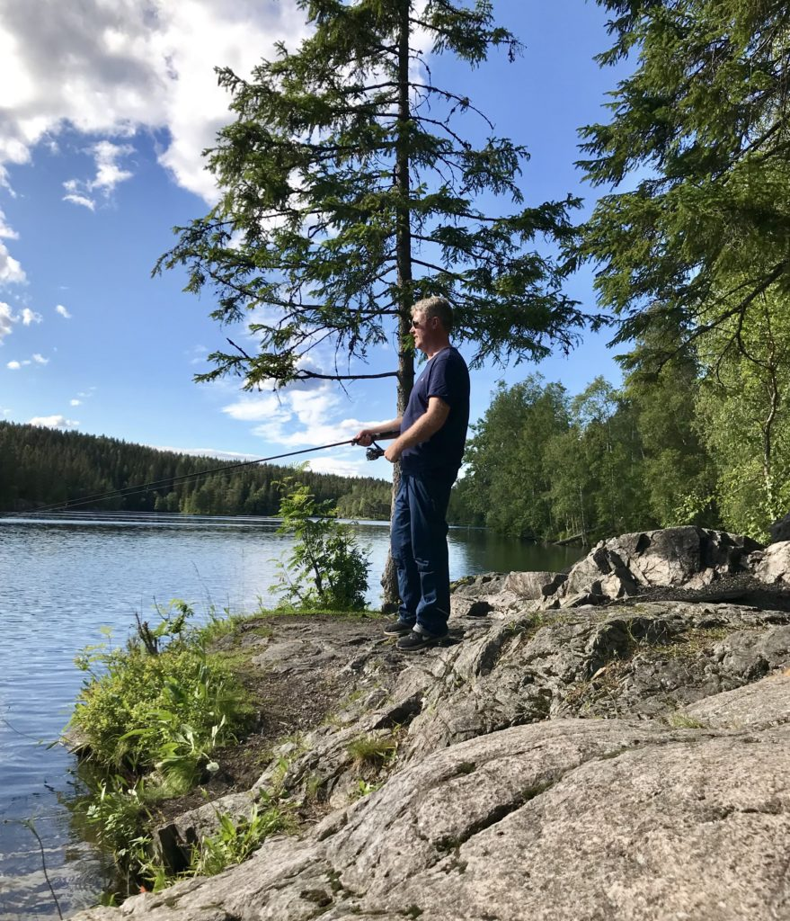 Store Åklungen lille Sognsvann Maridalen fisk fiske Oslo Nordmarka ørret abbor sik