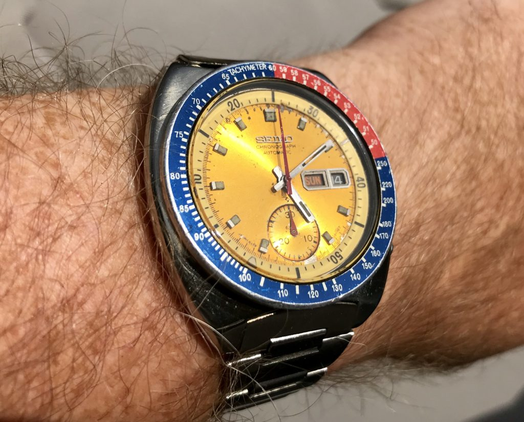 Seiko Pogue sunburst dial