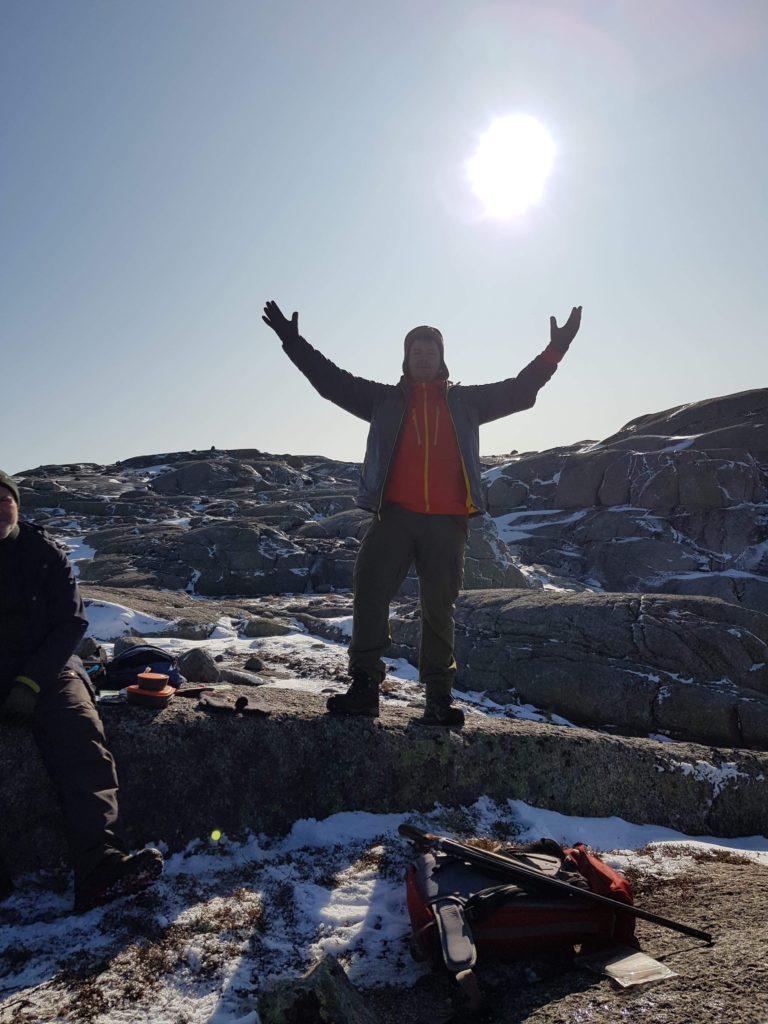 Fercho fra bibelbeltet holder sin egen bergpreken Jakt Hjelmeland