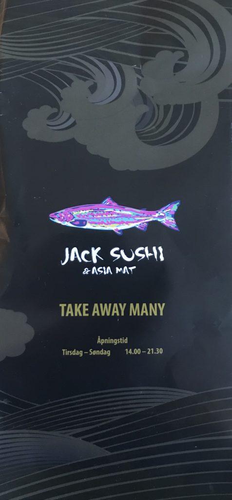 Jack sushi & Asia mat meny Stavanger hundvåg Rogaland Norge takeaway restaurant