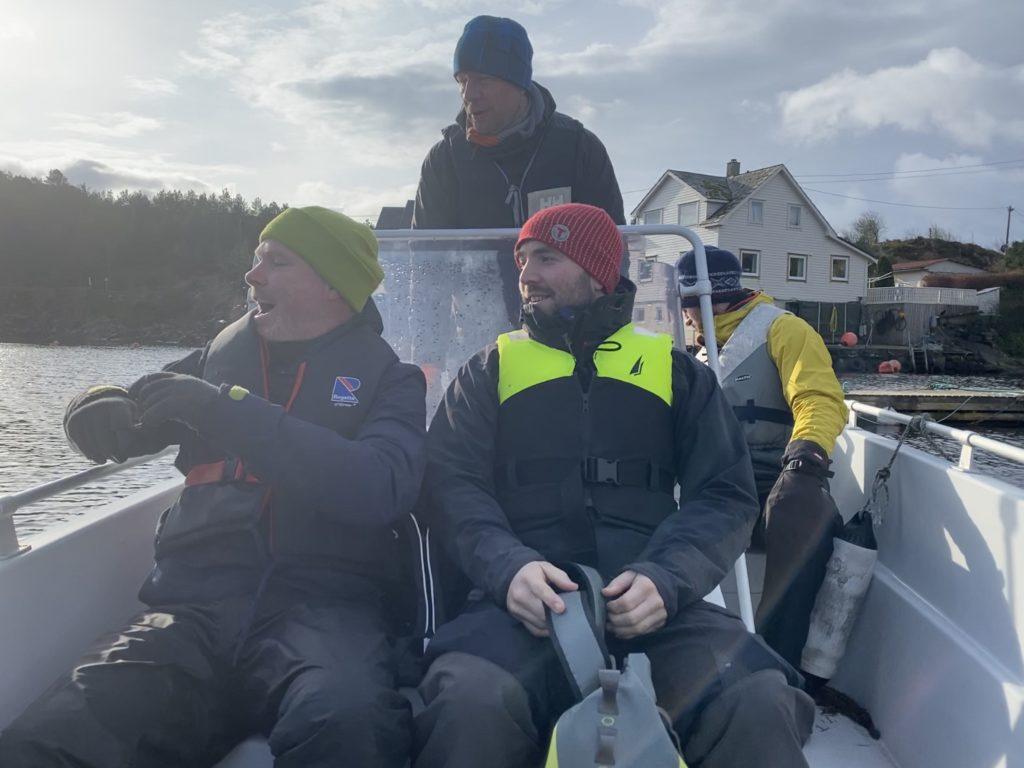Knoppsvanene i Lyklingfjorden sniker opp på meg og skremmer livskiten ut av meg livskitten