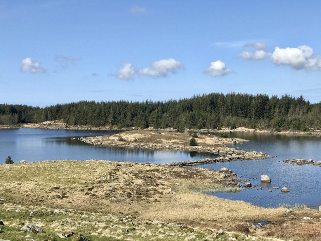 Holmavatn fisketur fisk ørret røye Rogaland