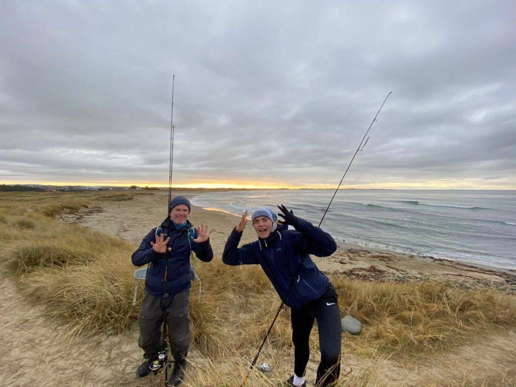 Fiske sjøørret selestranda Rogaland sele nord for bore