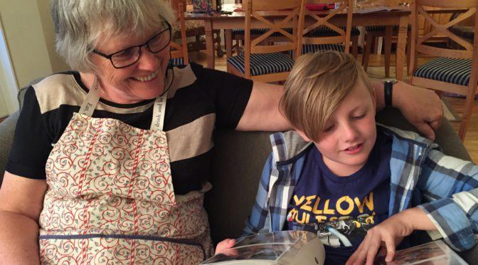 Verdens beste bestemor. En fotokavalkade.