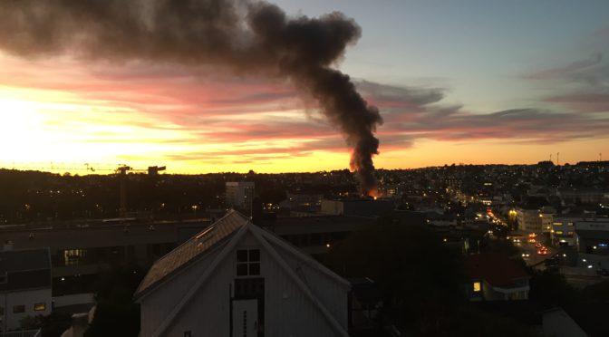 Brann i Sandnes
