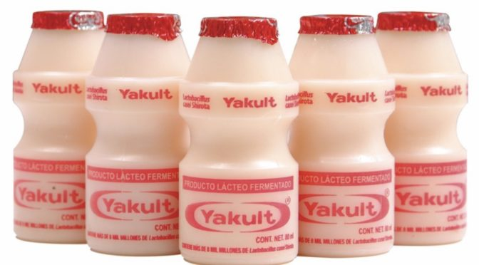 Her selges Yakult i Norge